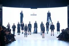 Bipa Fashion Show: Coded Edge, Zagreb, Croatia. Royalty Free Stock Photography