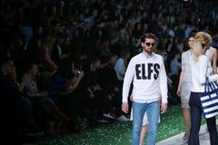 Bipa Fashion Show: Elfs, Zagreb, Croatia. Royalty Free Stock Image
