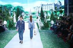 Bipa Fashion Show: Elfs, Zagreb, Croatia. Stock Images