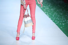 Bipa Fashion Show: Elfs, Zagreb, Croatia. Stock Image