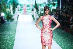 Bipa Fashion Show: Elfs, Zagreb, Croatia. Royalty Free Stock Photography