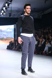 Bipa Fashion Show: Ik Studio, Zagreb, Croatia. Stock Photo