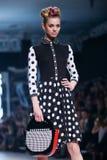 Bipa Fashion Show: Zoran Aragovic, Zagreb, Croatia. Stock Photo