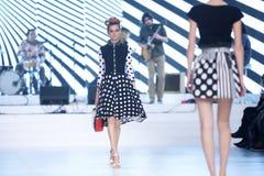 Bipa Fashion Show: Zoran Aragovic, Zagreb, Croatia. Royalty Free Stock Photos