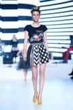 Bipa Fashion Show: Zoran Aragovic, Zagreb, Croatia. Stock Image