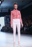Bipa Fashion Show: Zoran Aragovic, Zagreb, Croatia. Royalty Free Stock Images