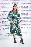 Bipa moda hr 2017: Osobistości, Zagreb, Chorwacja Zdjęcie Stock