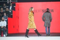 Bipa moda hr 2017: Robert Przecina, Zagreb, Chorwacja Fotografia Royalty Free