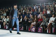 Bipa moda hr 2017: Robert Przecina, Zagreb, Chorwacja Zdjęcia Stock