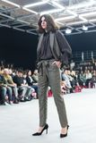 Bipa moda hr 2017: Robert Przecina, Zagreb, Chorwacja Obrazy Stock