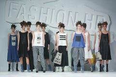 Bipa-Mode Stunden-Modeschau: Marina Design Lizenzfreie Stockbilder