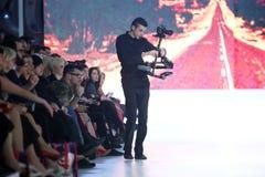 Bipa pokaz mody: Ik studio, Zagreb, Chorwacja Fotografia Stock