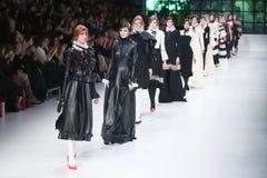 Bipa pokaz mody: pozazdroszczenie pokój, Zagreb, Chorwacja Obraz Stock