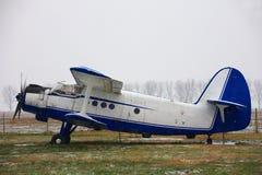 Biplane Stock Photo