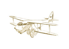 Biplane Royalty Free Stock Photography