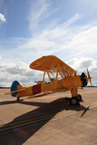 Biplane. Royalty Free Stock Images
