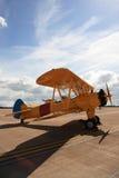 Biplane. Royalty Free Stock Images