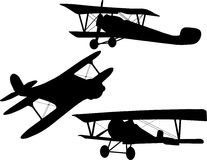 Biplane Stock Photos