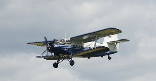 Biplane Antonov AN2 Stock Photos