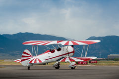 Biplane Royalty Free Stock Photo