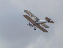 A Biplane in Flight Stock Photos