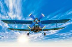 Biplane Stock Photography
