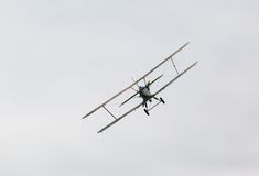 Biplane Polikarpov po-2, αεροσκάφη WW2 Στοκ Εικόνα