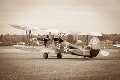 Biplane Polikarpov po-2, αεροσκάφη WW2 Στοκ Φωτογραφίες