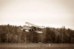 Biplane Polikarpov po-2, αεροσκάφη WW2 Στοκ Εικόνες