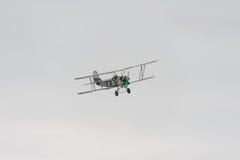 Biplane Polikarpov po-2 χρησιμότητας Αεροσκάφη Δεύτερου Παγκόσμιου Πολέμου Στοκ Φωτογραφία