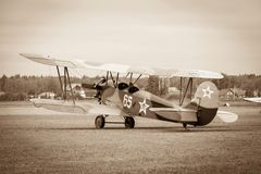 Biplane Polikarpov Po-2, aircraft  WW2 Stock Photos