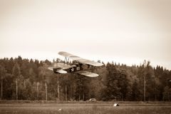 Biplane Polikarpov Po-2, aircraft  WW2 Stock Images