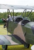 Biplane Polikarpov Po-2, aircraft  WW2 Stock Image