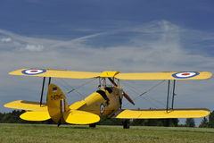 Biplane Tiger Moth Royalty Free Stock Photo