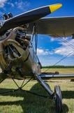 Biplane Wulf FW44J Focke Στοκ Εικόνα