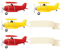 Biplanes Royalty Free Stock Images