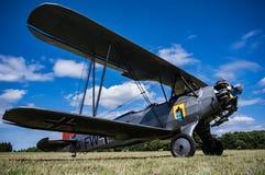 Biplano de Focke Wulf FW44J fotografia de stock