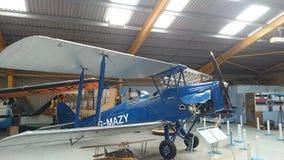 Biplano de Tiger Moth Foto de archivo libre de regalías