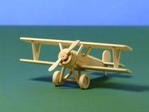 Biplano di modello Immagine Stock