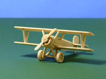 Biplano modelo imagem de stock