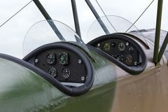 Biplano Polikarpov Po-2, aviões WW2 Foto de Stock