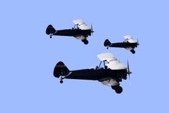 Biplanos de Boeing Stearman N62TS Imagens de Stock
