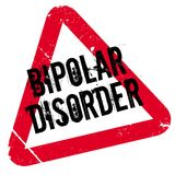 Bipolar Disorder rubber stamp Stock Photography