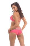 Biquini cor-de-rosa 'sexy' Foto de Stock
