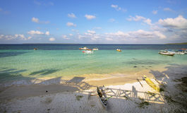 Bira beach landscape Royalty Free Stock Image