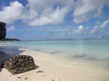 Bira plaża Indonezja Obraz Royalty Free