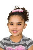 Biracial little girl Royalty Free Stock Image