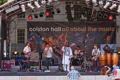 Biram Seck at the Bristol Festival Royalty Free Stock Image