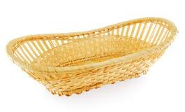 Birch bark basket Royalty Free Stock Image