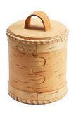 Birch bark box Stock Photo